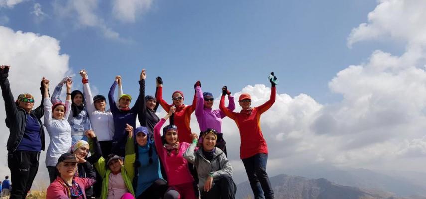 کارآموزی کوهپیمایی (بانوان)