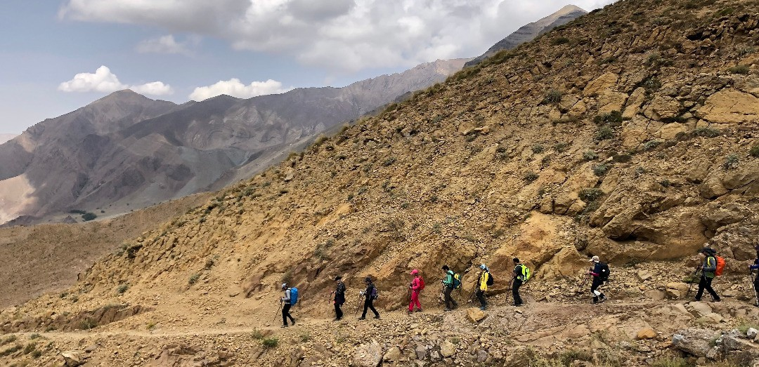 گزارش صعود قله پرسون