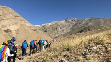 گزارش صعود قله خلنو